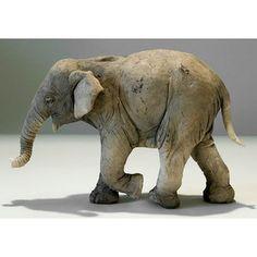 clay elephant | Clay Elephant Sculptures by Nick Mackman