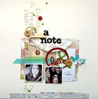 A Project by Davinie from our Scrapbooking Gallery originally submitted 01/07/13 at 08:58 AM