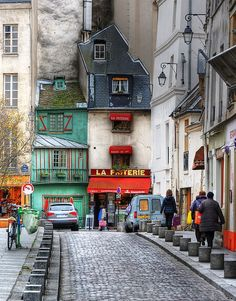 Parisian street. I recall walking here often.