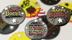 How to use Sweet Stamp by Amy Cakes - OutBoss the Spell bound Collection (Make your Cakes Magical) - YouTube Cupcake Toppers, Cupcake Cakes, Boss Birthday, Being Used, Spelling, Amy, The Creator, Make It Yourself, Sweet