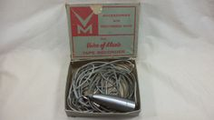 Vintage Voice of Music Microphone  Professional Bullet MIC FOR TAPE RECORDER #Shure