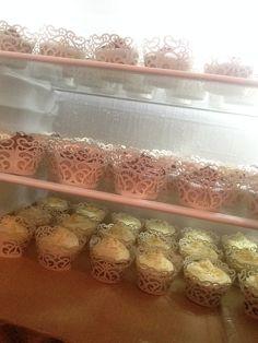 wedding cupaceks