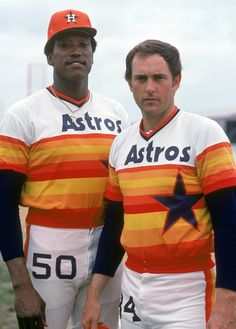 J.R. Richard and Nolan Ryan - Astros
