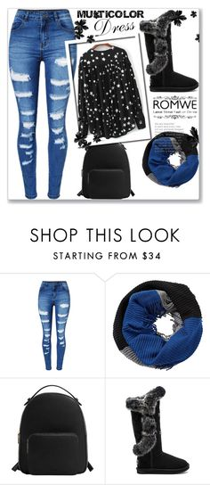 """""""Untitled #1226"""" by velvetgirl10 on Polyvore featuring WithChic, Betty Barclay, MANGO and Australia Luxe Collective"""