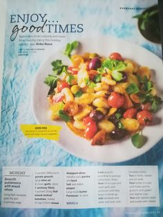 How To Cook Gnocchi, Penne, Fruit Salad, My Recipes, Spaghetti, Cooking, Food, Kitchen, Fruit Salads