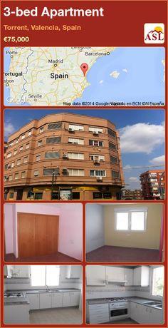 3-bed Apartment in Torrent, Valencia, Spain ►€75,000 #PropertyForSaleInSpain