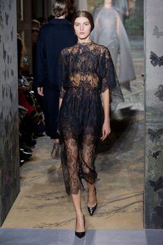 Valentino Haute couture Printemps-été 2014 layering with different colours