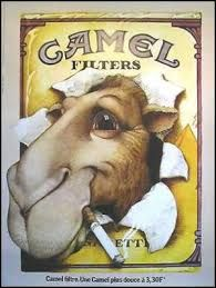 Camel Cigarettes Poster Vintage styled French by thunderclub Vintage Advertising Posters, Old Advertisements, Vintage Posters, Retro Poster, A4 Poster, Pub Vintage, Vintage Signs, Unique Vintage, Vintage Cigarette Ads