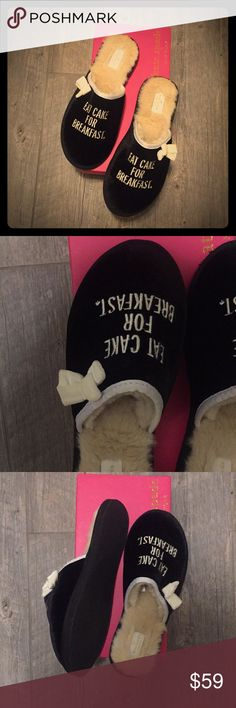 ✅Reduced💯Kate Spade ♠️ Barrone Slippers Beautiful Kate Spade velvet slippers, perfect as a gift or just for yourself to keep your feet warm and cozy! Don't miss out,... Brand new, with original box. kate spade Shoes Slippers