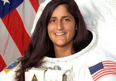 "Sunita ""Suni"" Williams (born September 19, 1965) is an #IndianAmerican astronaut and a United States Navy officer who holds the records for longest single space flight by a woman (195 days), total spacewalks by a woman (seven), and most spacewalk time for a woman (50 hours, 40 minutes). Williams was assigned to the International Space Station as a member of Expedition 14 and Expedition 15. In 2012, she served as a flight engineer on Expedition 32 and then commander of Expedition 33."