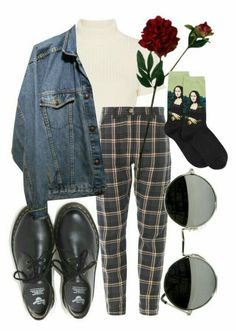 martens, laura cole and hot sox стиль грандж, повсякденний одяг, мод Vintage Outfits, 70s Outfits, Mode Outfits, Grunge Outfits, Trendy Outfits, Fall Outfits, Vintage Fashion, Dress Outfits, Casual Hipster Outfits