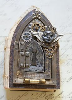Steampunk Faerie door-OOOoh, I love it for a peep hole!