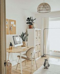 Corporate Office Decor, Home Office Decor, Home Decor, Office Ideas, Office Setup, Office Lighting, Ikea Office, Office Inspo, Guest Room Decor