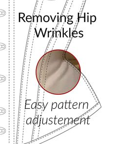 corset pattern Ever wondered how to remove hip wrinkles on your corsets This method will solve this problem directly in the corset pattern! Corset Sewing Pattern, Bra Pattern, Pattern Drafting, Dress Sewing Patterns, Pattern Cutting, Pattern Making, Corset Tutorial, Victorian Corset, Renaissance Corset