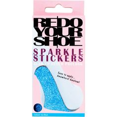 Redo Your Shoe Blue Sparkle Sole Stickers - Bridal Jewellery - Crystal Bridal Accessories