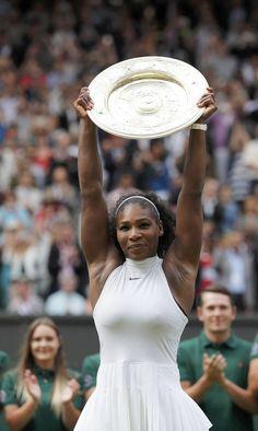 b79874b5d11 Serena Williams creates history with 22nd Grand Slam title at Wimbledon  2016 Serena Williams Wimbledon,