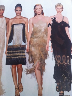 Vogue's Great Gatsby Inspired Fashion
