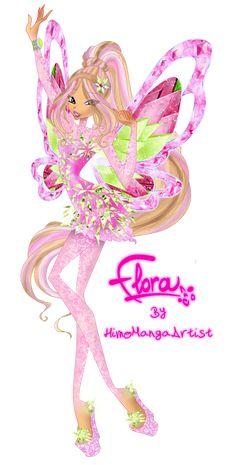 Flora Tynix by HimoMangaArtist.deviantart.com on @DeviantArt