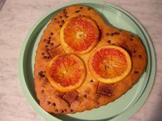 Torta cuore d'arancia. Ottimo spunto suggerito da menomalesongolosa.blogspot.com