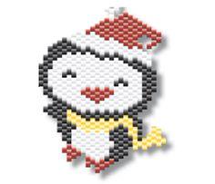 świąteczny pingwinek