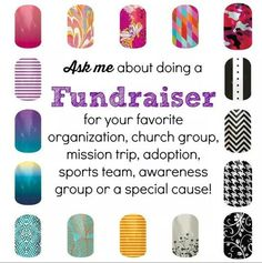 Ask me about a fundraiser for your church, school, or other organization!