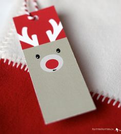 Print your own holiday gift tags!
