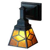 Found it at Wayfair - Diamond Mission 1 Light Wall Sconce