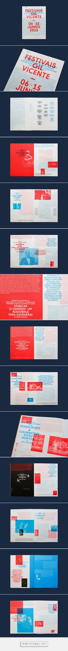 Gil Vicente 2013 Handout, by Oscar Maia on Behance. - a grouped images picture Text Layout, Print Layout, Book Layout, Ed Design, Retro Design, Book Design, Print Design, Editorial Design, Editorial Layout