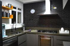 Cozinha tijolinho