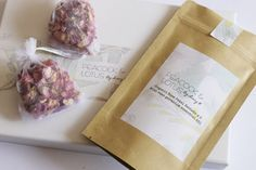 Organic Rose Petal Drawer or Closet Sachets by PeacockandLotus