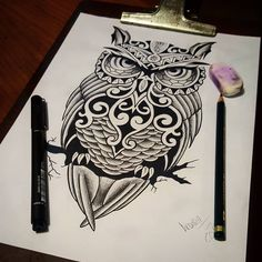 Rascunho! Coruja  maori! Desenho feito  para  um cliente meu. ( referência da Internet)  Quem quiser é só entrar em contato comigo por email outlawstattoo10@gmail.com.  ✏ #tattoocaldara #tattoo #inspirationtattoo #tatuagem #tatuagensfemininas #tattoos_of_instagram #outlawstattoo #instatattoo #tattoolovers #tattooforever #tatuagens #tattoos  #petropolis  #tattooscute #tattoo2me #instatattoo #tattooflash  #maoritattoo  #tattoomaori #maoriart #coruja #corujatattoo #owltattoo #owl