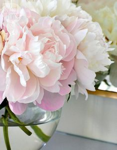 Simple floral arrangement {PHOTO: Virginia Macdonald}