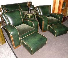 Unique Art Deco Sofa Suite | Seating Items | Art Deco Collection