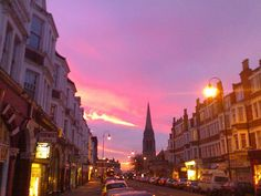 Muswell Hill at dawn by markhillary, via Flickr