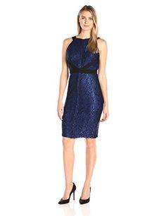 Sangria Women's Halter Neck Metallic Lace Sheath with Sha... https://www.amazon.com/dp/B01M22KXSA/ref=cm_sw_r_pi_dp_x_kU40ybHYBJHK0