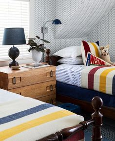 Bright & Cheerful Camping-Themed Bedroom