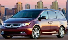 Honda Odyssey EX Minivan — Top 10 Best Family Cars Of 2013