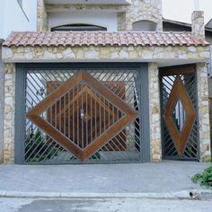 Portões de Madeira para Garagem