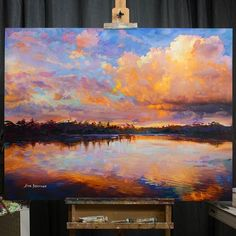 Acrylic Painting Canvas, Canvas Art, Acrylic Landscape Painting, Canvas Size, Landscape Paintings On Canvas, Landscapes To Paint, Beautiful Landscape Paintings, Acrylic Painting Inspiration, Abstract Landscape