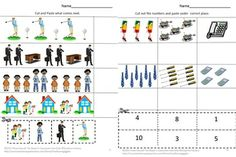June means summer and sunshine. A perfect time to celebrate our Fathers. Students can celebrate their fathers while learning with this All About Dad Cut and Paste Worksheet set. It consists of 25 worksheets using graphics pertaining to our Dads, as follows; Color Matching What Comes Next Letter-upper case, low case Matching Shape Matching Number Matching Counting Skip Count by twos Addition Subtraction Which is one is different Which group has more? Which group has less?
