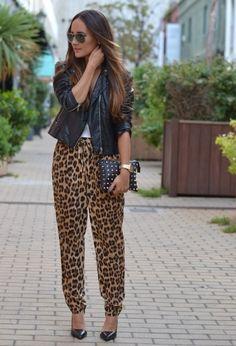 Calça Leopardo