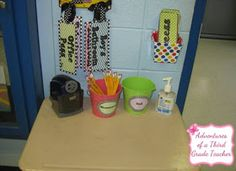 Adventures of a Third Grade Teacher: My Classroom Reveal -- linky party with 6 million room ideas