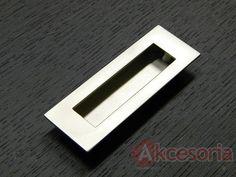 Uchwyt ZnAl MD13 Rozstaw 76 mm nikiel satynowy
