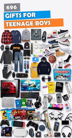 See 696 Gifts For Teen Boys To Get Christmas His Birthday Or Any Occasion We Scoured The Stores Find Best Teenage Boy Gift Ideas