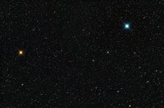 Contrasting Star Colors in Perseus