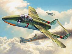 the Focke Wulf P.VII Flitzer  would be a tremendous asset for the Luftwaffe for intercepting  the bomber streams and Fighters of the Allies and with given priority the first fighters would be appear on the battlefield in apr 1944