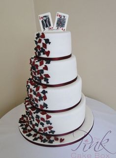 King/Queen of Hearts Cake