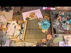 """Scrapbooking """"How-To Start"""" a Mini Album by Steff (with A Grin).m4v"""