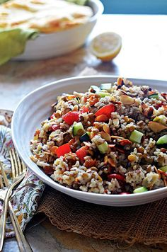 Indian-Spiced Rice and Lentil Salad