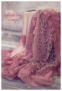 Image of Baby Drapes - Pink Cobwebs  http://www.samanthajanedesigns.bigcartel.com